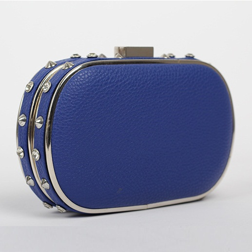 Fashion Style Punk Brand designer rivet-bag Clutch Purse Evening Bag PU Leather Handbag women wallet female bags XK5956(China (Mainland))