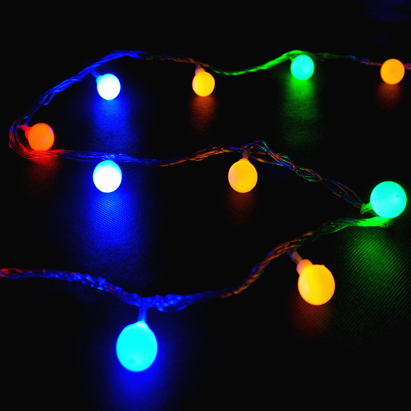 10pcs High Quality 100LED/10M Christmas Mini Bulb LED String Light Outdoor Party Home Decoration ...