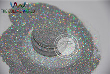 Holographic Laser SILVER color Makeup Loose Glitter Powder Eyeshadow Face Body Cosmetic for free shipping(China (Mainland))