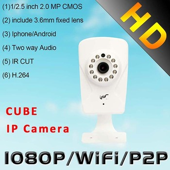 IPS New 2.0Megapixel Wifi 2.8mm Day&Night Household H.264 HD Network IP security cameras (IPS-Ki-C)