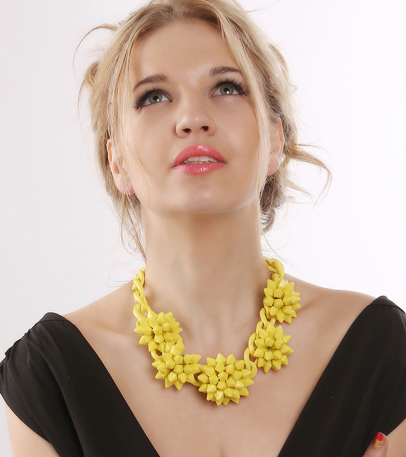 Good Quality New 2014 ZA Fashion Necklace Antique Pendant Statement Necklaces Women Wholesale Price(China (Mainland))
