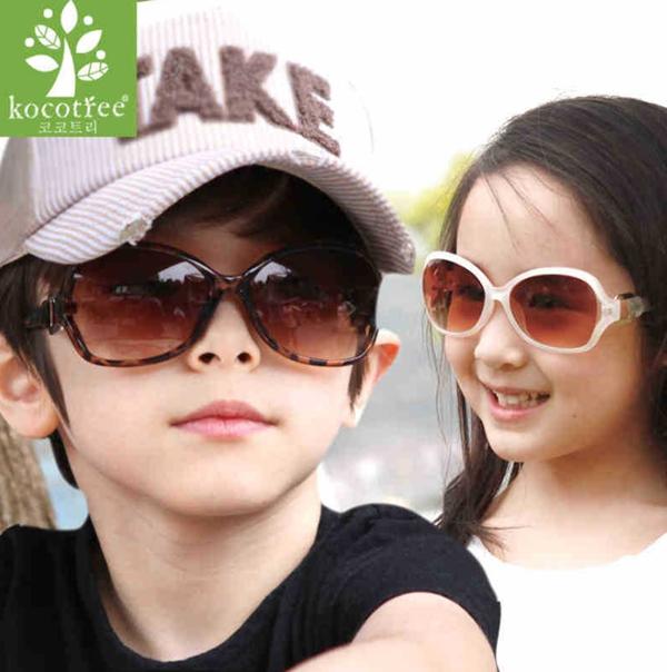 Korea design sunglasses Children eyeglasses All match kids gafas Girls boys gradient sunglass Plastic goggles KS0044