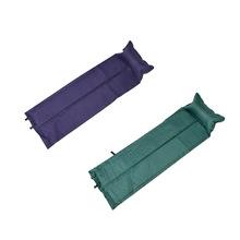 188*57*2.5cm Outdoor Waterproof Camping Mat Automatic Inflatable Mat Dampproof Sleeping Pad Tent Air Mat Mattress with Pillow(China (Mainland))
