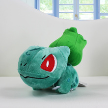 5'' 13cm New Hot Pokemon Plush Toys Cute Bulbasaur Plush Doll Collectible Kids Plush Action Figures(China (Mainland))