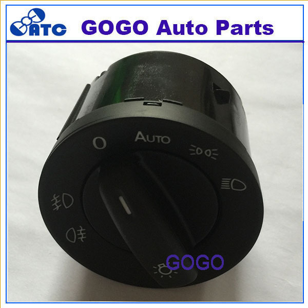 Free shipping Head light Switch Head Lamp Switch VW CADDY EOS GOLF JETTA PASSAT TOURAN OEM 1K0941431AS(China (Mainland))