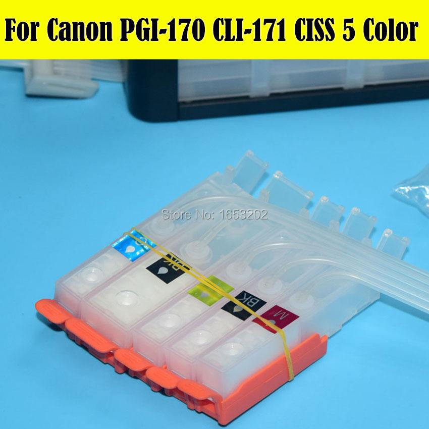 Canon 170 171 PGI-170 CLI-171 Ciss System 3