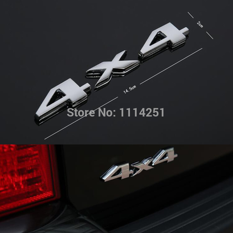 Car Stickers for Jeep 4X4 SUV 4WD car logo four-wheel affixed label Wrangler jeep commander metal trailer Car Styling(China (Mainland))