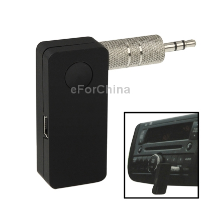 Car Bluetooth Music Receiver with Stereo Output and Mini USB charger , Wireless Distance: 10m (EP-B3502)(China (Mainland))