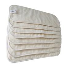 Babyland 5 layers Bamboo Charcoal baby diaper inserts nappy changing bamboo nappies 15pcs