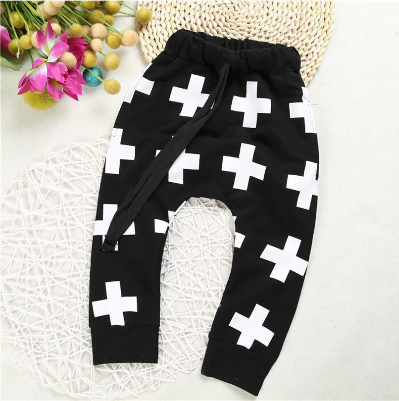 2016 New baby trousers for boys cross star pants,<font><b>shalwar</b></font> <font><b>kameez</b></font> pants for girls boys pants kids kikikids clothes YAZ018
