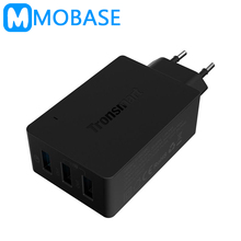 [Qualcomm Official Certified]Tronsmart TS-WC3PC 3 Ports Quick Charge 2.0 VoltIQ Wall Charger for Samsung Galaxy S6 LG G4 Xiaomi(China (Mainland))