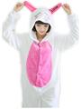 Flannel Anime Pajama rabbit Cosplay Warm Hood Loungewear Adult Homewear Cute bunny Onesies Animal Pajamas Love