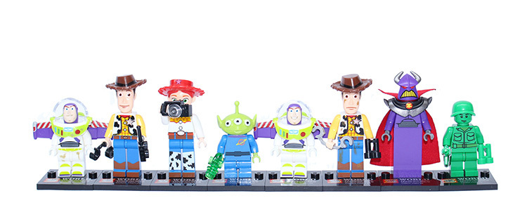 wholesale SY172 toy4 story Mr Potato Head Jessie Woody Buzz enlighten Building bricks block Minifigures Classic Toys(China (Mainland))
