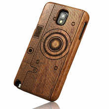 For Samsung NOTE2 cover phone logs of wood carvings pear walnut wood bamboo For Galaxy Note 2 Case(China (Mainland))