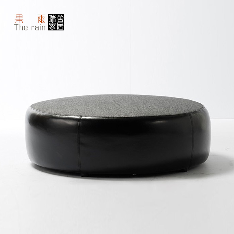 maisons suisses ad 47 tour coussin de si ge de tabouret rond le salon pour se asseoir quai pouf. Black Bedroom Furniture Sets. Home Design Ideas