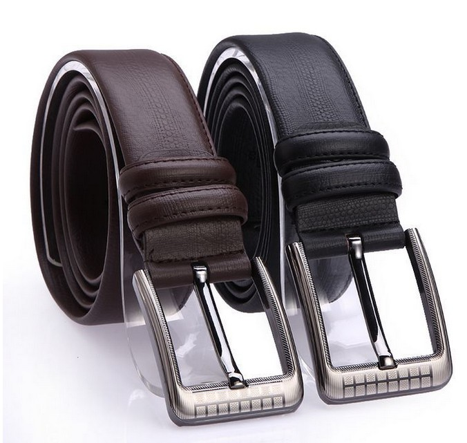 New Spring 2015 Men Leather Belt High Quality Nagarjuna Grain Genuine Leather Casual Strap Male Ceinture Buckle Belts(China (Mainland))