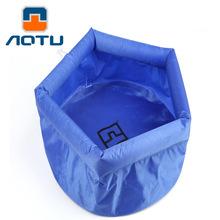 Buy AOTU 8L Folding Basin Outdoor Travel Washbasin Wash Basin Bucket AT6622 Thick Foot Soaking Basin 383 for $7.63 in AliExpress store