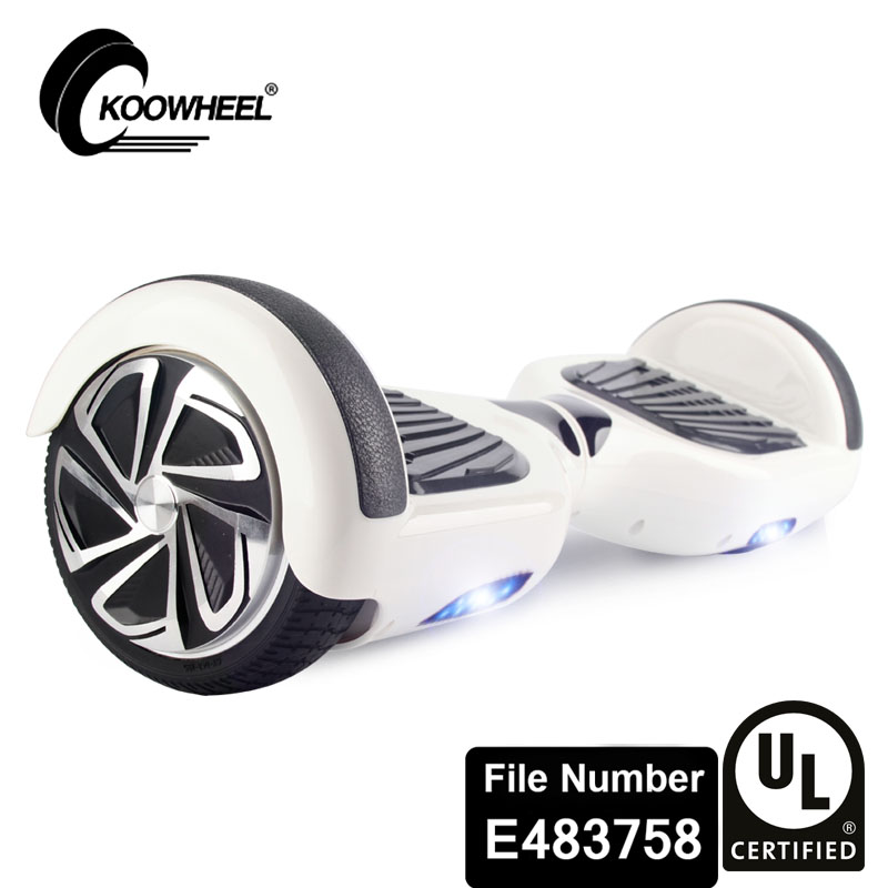 SAFE UL2272 CERTIFICATED KOOWHEEL hoverboard electric motor scooter for adults personal transporter USA warehouse(China (Mainland))