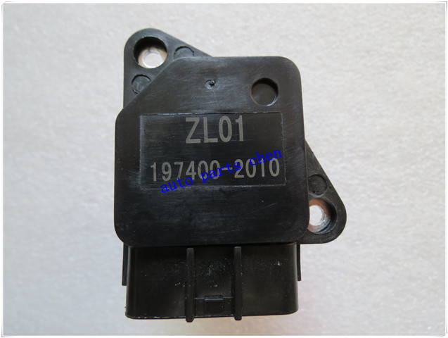 New Mass Air Flow Sensor Meter MAF OEM 197400-2010 for Mazda 3 5 6 MX-5 ZL01-12-215 ZLY1-13-215 197408-0040 ZL01-13-215(China (Mainland))