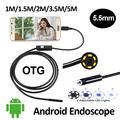 5 5mm OD Android USB Endoscope Camera 1M 1 5M 2M 3 5M 5M Snake Tube