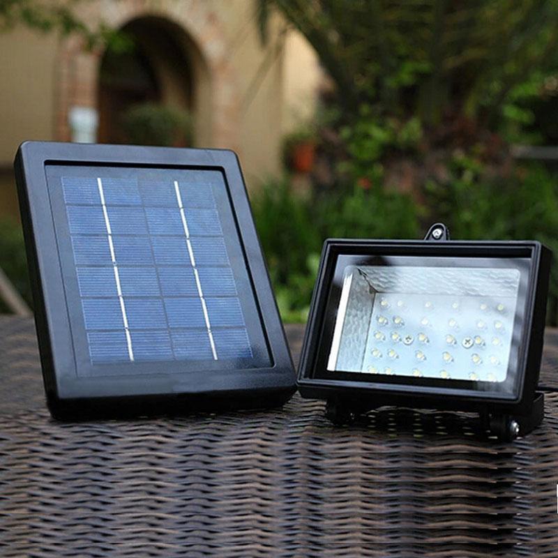Energy Saving Solar Lamp Solar Power Panel 30 LED Solar Light Outdoor Sport Yard Sidewalk Fence Path Pool Pond Lawn Garden Lamp(China (Mainland))