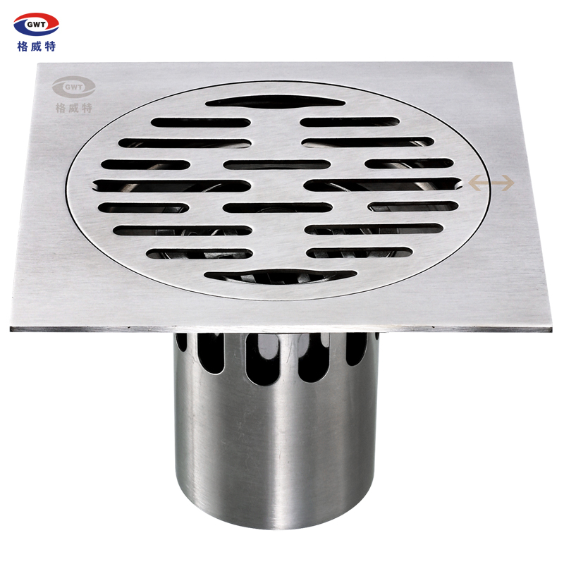 free shipping stainless steel anti-odor floor drain 15cm(China (Mainland))