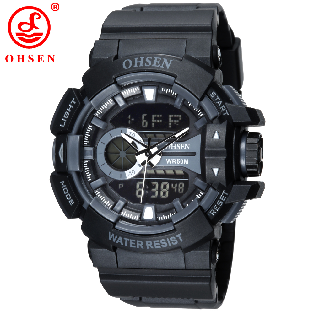 2016 new mens boys sports watches ohsen brand