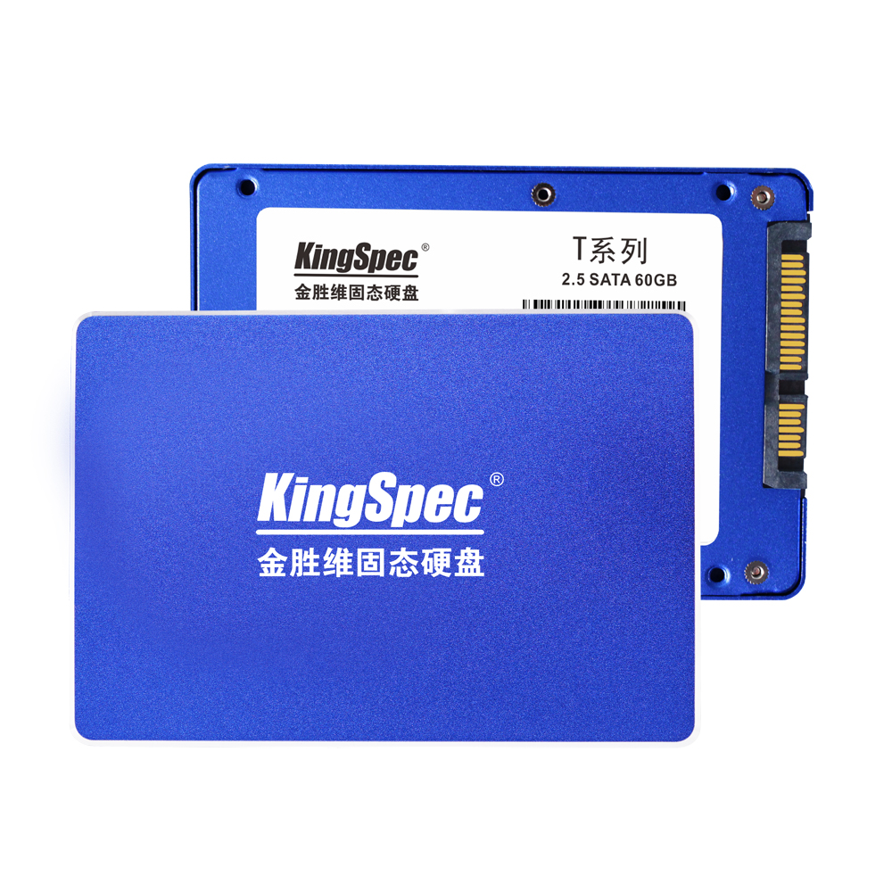 "T60 KingSpec Original 7mm 2.5"" SATA3 SSD 60GB Internal Solid State Drive 2.5 inch SATA III HDD Hard Disk HD SSD Notebook PC 60 G(China (Mainland))"