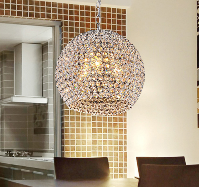Modern Crystal pendant light Sconce K9 crystal lamp E14 Stairs Aisle foyer lamps shade Home Decor Luminaire FRHC/05