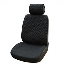 AUTOYOUTH Cotton Cloth Car Seat Cushions Universal Fit Most Car Seat Cover Black Car Styling Interior Accessories Seat Covers(China (Mainland))