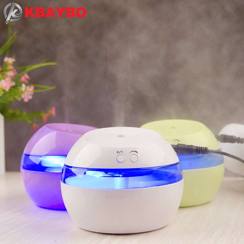DC 5V Ultrasonic Air Aroma Humidifier Color LED Lights Electric Aromatherapy Essential Oil Aroma Diffuser Free Shipping(China (Mainland))