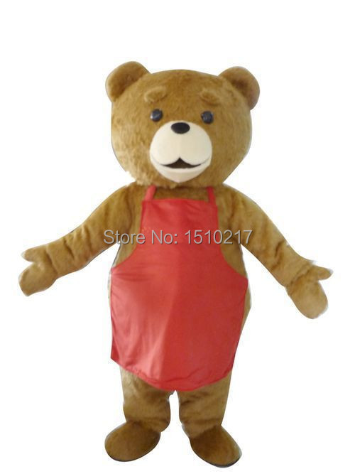 NEW STYLE High quality popular new plush teddy bear movie Halloween Fancy Dress Animal mascot costume free shipping(China (Mainland))