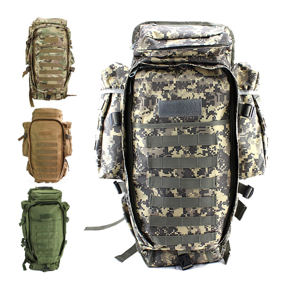 Military USMC Army Tactical Molle Hiking Hunting Camping Rifle Backpack <font><b>Bag</b></font> Free Shipping Hot <font><b>Climbing</b></font> <font><b>Bags</b></font>