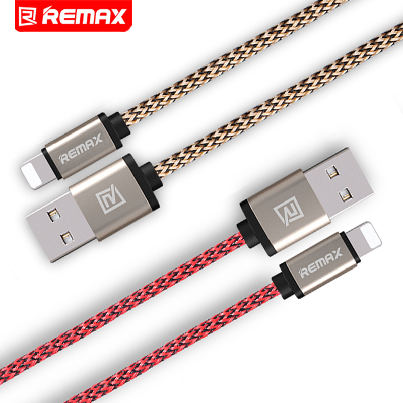 Remax Nylon Moblie Phone Cable For iPhone Date Transfer Cable Charge Charger USB Cable Fast Charging Cable 0.2M 1M 2M(China (Mainland))