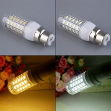 2400LM 15W B22 48 x 5730 SMD LED Corn Bulb Lamp Pure/Warm White Light 220V new arrival(China (Mainland))