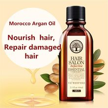 Multi-functional Hair Care Moroccan Pure Argan Oil Hair Essential Oil For Dry Hair Types Hair 60ml(China (Mainland))