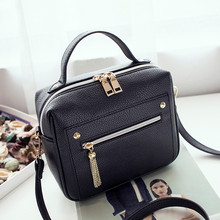 Buy YBYT brand 2017 new fashion casual PU leather solid women handbags hotsale ladies shopping bga shoulder messenger crossbody bags for $10.93 in AliExpress store