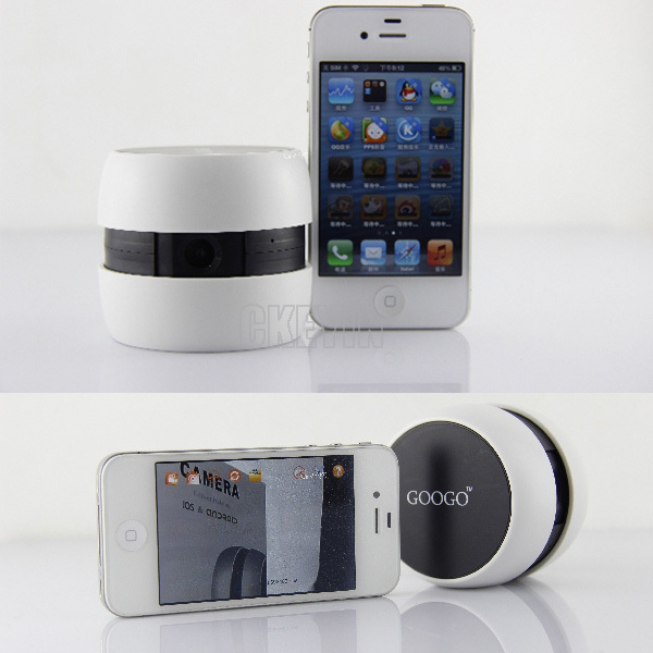 new arrival portable googo wifi camera baby monitors wireless for ios android smartphone. Black Bedroom Furniture Sets. Home Design Ideas