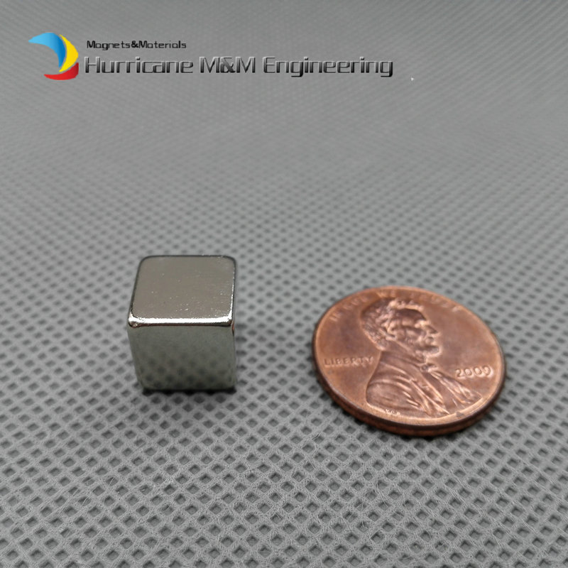 60 pcs NdFeB Magnet Block 10 x 10 x 10mm Rectangle Bait Mounting Strong Neodymium Permanent Magnets Rare Earth Magnets Grade N42<br><br>Aliexpress