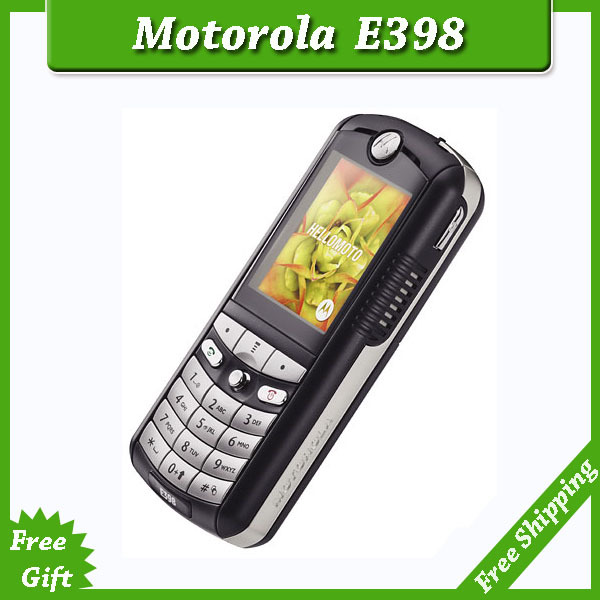 SG Post Free shipping 100% original unlocked Motorola E398 mobile phones with russia keyboard(China (Mainland))