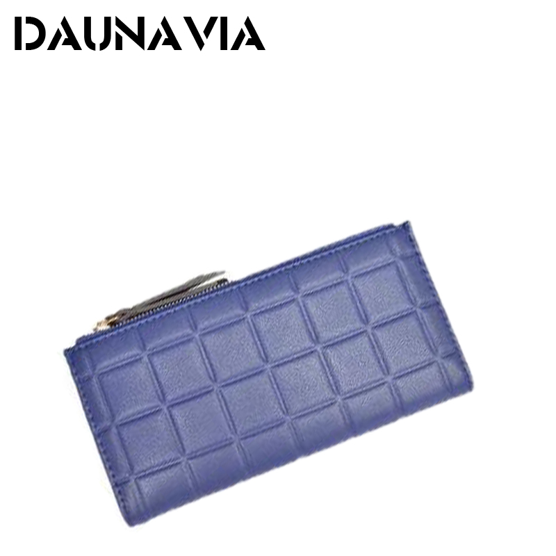 New brand Candy Colors Purse Plaid Leather Zipper Wallet Cards Holder Wallet For Girls Women Wallet(China (Mainland))