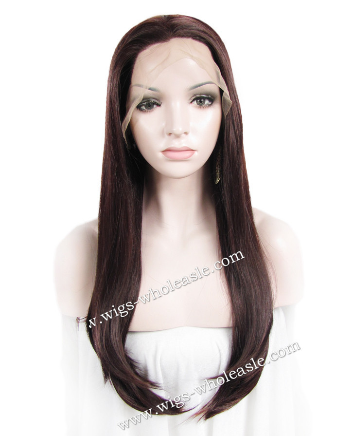 Wholesale  long  Straight Heat  Synthetic  lace front wigs auburn  Cosplay  Discount<br><br>Aliexpress