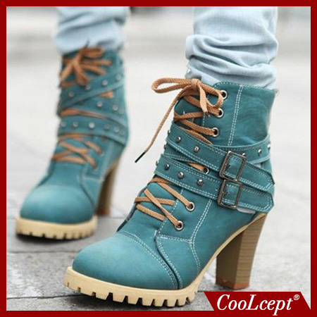 women high heel half short ankle boots winter martin snow botas fashion footwear warm heels boot shoes P7736 size 34-39(China (Mainland))
