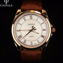 2016 YAZOLE Quartz Watch Men Top Brand Luxury Wrist Watches Men Clock Business Wristwatch Male Quartz-Watch Relogio Masculino