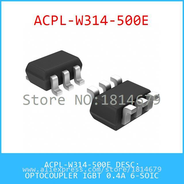 Diy Electronic ACPL-W314-500E OPTOCOUPLER IGBT 0.4A 6-SOIC 314 ACPL 1pcs(China (Mainland))