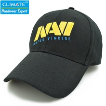 Game DOTA 2 WOT SC2 World Champion Team Ukraine Navi Natus Vincere Team Puppey Dendi Logo Caps Hat for Adult Men Women Fans(China (Mainland))