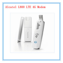2014 recién llegado de Cheapest Original Unlock LTE FDD 100 Mbps Alcatel one touch L800 LTE 4 G módem USB y 4 G dongle, envío gratis(China (Mainland))