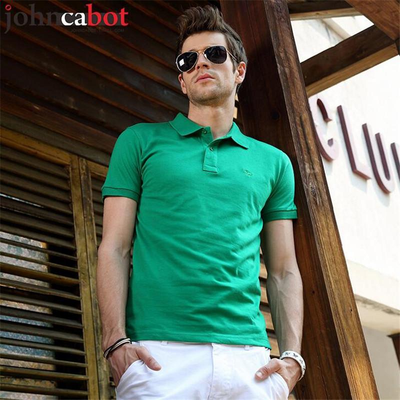 14 Colours 2016 New Fashion Mens Summer Cotton Polo Shirt Men's Short Sleeve Casual polos Shirts For Men Camiseta Plus Size 2XL(China (Mainland))