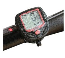 1 unids envío gratis multifunción Digital LCD para bicicleta cuentakilometros velocímetro Velometer G5lL