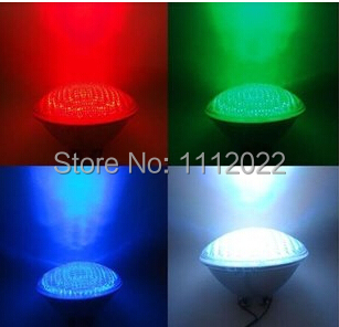 40w Par56 RGB led swimming pool underwater RGB color LED light lamps bulb + remote controller for sample free shipping FEDEX(China (Mainland))